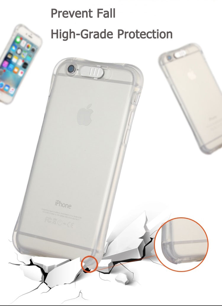 High Quality Transparent Luminous LED Flash Back Cover Shell For iPhone Models 14