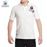 SUPYACH Brand Polo Shirt Embroidered Logo Breathable Casual Polo Long Sleeve Polo Shirts For Men Classic