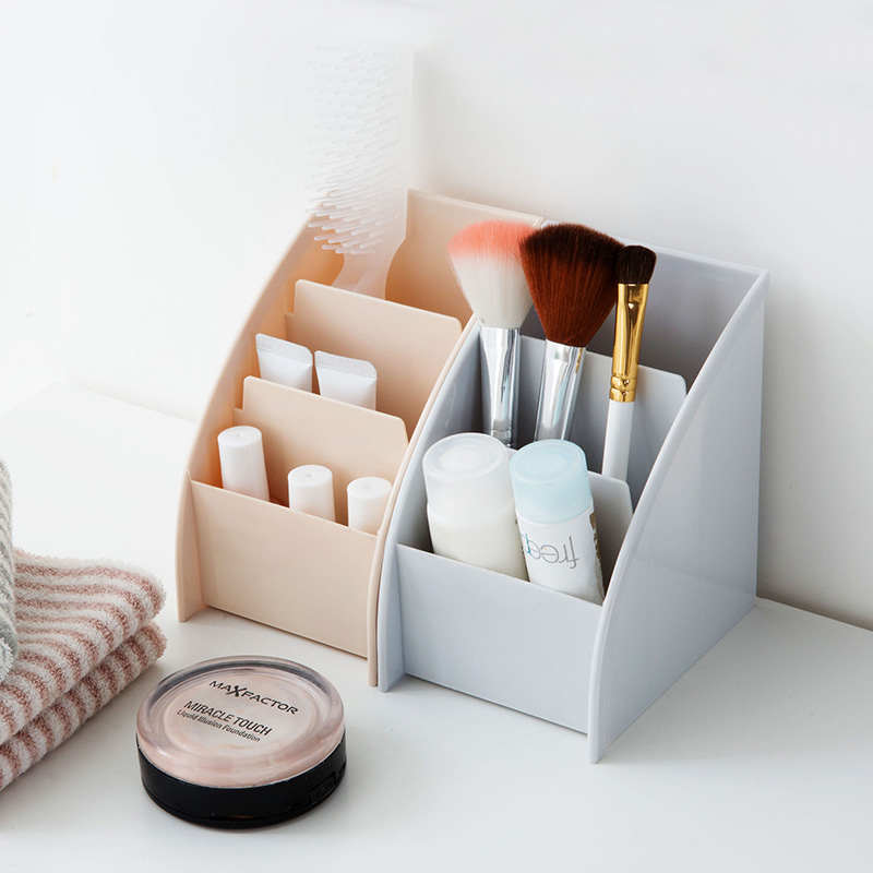Makeup Organizer Cosmetics Storage Box Desktop Makeup Sundry Storage Holder For House Office Table Remote Control Holder