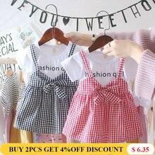 Liakhouskaya 0-2 Years Summer Newborn Infant Dress Cotton 2019 Fashion Girl Toddler Princess Birthday Party Baby Dress For Girls