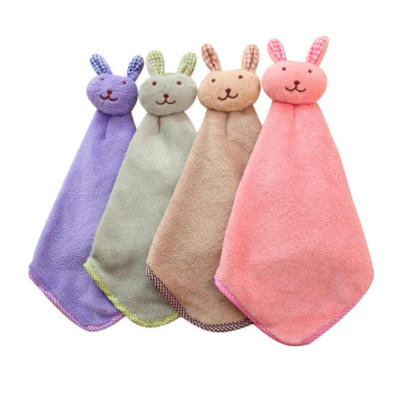 Kuchnia Cartoon zwierząt wiszące tkaniny miękkie pluszowe ścierki ręcznik wytrzeć wiszący ręcznik kąpielowy dla dzieci łazienka
