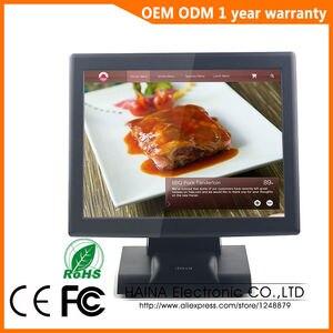 Image 3 - Haina Touch 15 zoll Touchscreen Supermarkt POS Kassen Für Verkauf, POS System Alle in einem PC