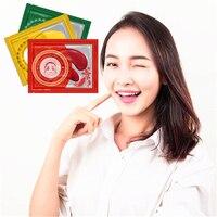 Love Thanks Gold/Red/Green Eye Cream Contour Remove Black Circle Wrinkles Collagen Firming Repair Eye Mask 2Pcs/bag Creams