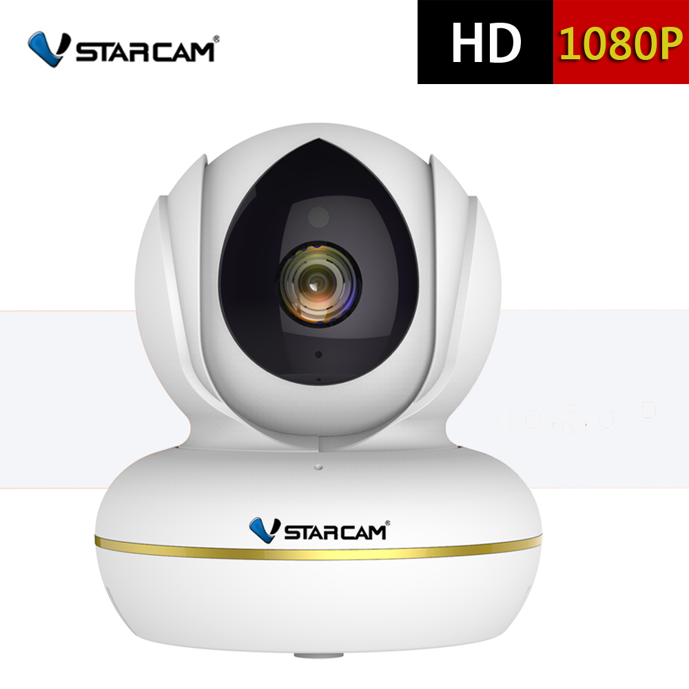 VStarcam C22S HD1080P Wi-Fi IP Camera Video Surveillance Monitor Security Wireless Cam with Two Way Audio Night Vision EYE4 APP wireless security cam 960p hd video surveillance recording streamed on smart devices 2 way audio surveillance nanny or pet cam
