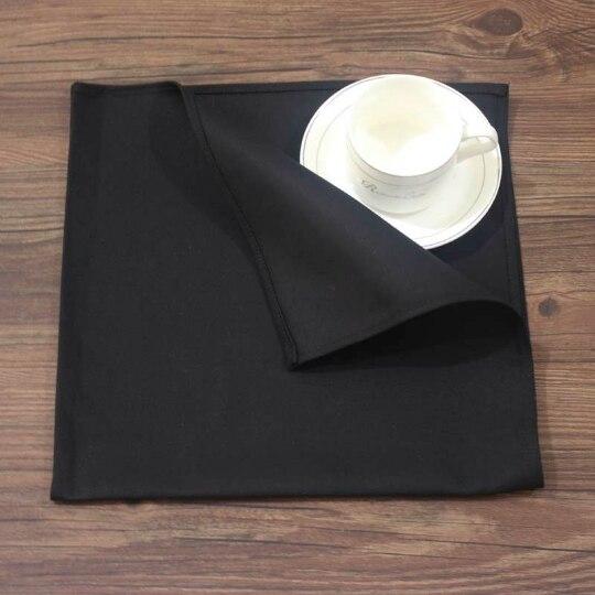 130 Stuks Zwart Wit 100% Katoen Dineren Servetten Tafel Linnen Hoge Kwaliteit Alle Gelegenheden 48 Cm X 48 Cm Aromatisch Karakter En Aangename Smaak