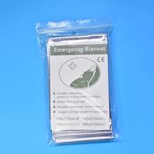 Новинка для мальчиков и девочек штормовки-Военный Спальный Мешок первой помощи аварийного Одеяло спасательное Шторы Портативный на открытом воздухе спасательный тент