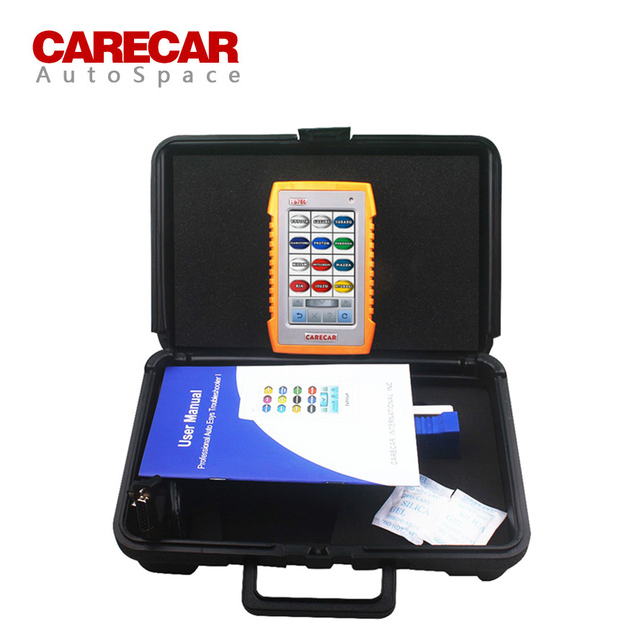 Original Automotive Scanner Carecar TS760 4 System All Functions ABS Airbag SRS EPB DPF Full Car Support TS-760 Diagnostic Tool