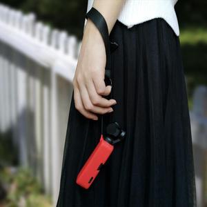 Image 5 - Para DJI OSMO cardán de mano de bolsillo de la Cámara de silicona suave cubierta de la piel de la carcasa a prueba de deslizamiento Gimbal accesorios Color caramelo