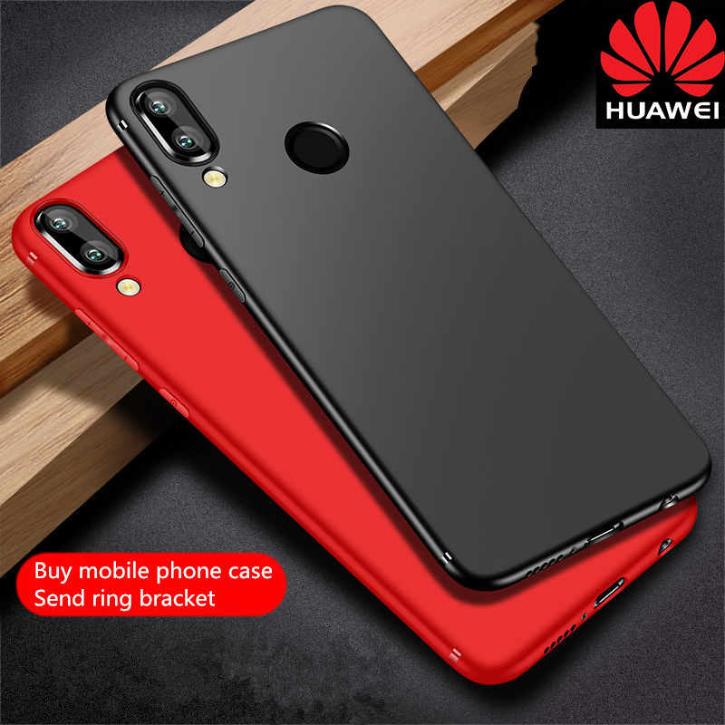 Huawei P20 caseDeluxe Matte Non-slip Phone Case for P20 Pro lite P30 pro lite mate10 20 pro Business solid color high-end feel