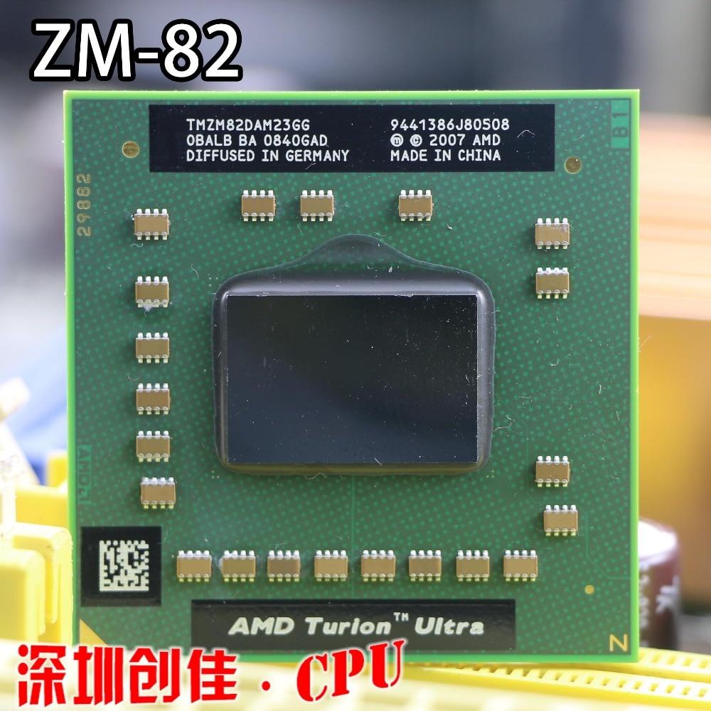 Free shipping AMD Laptop original CPU TMZM82DAM23GG ZM82 PGA638 ZM 82 ZM-82 processor PGA 638 Socket S1