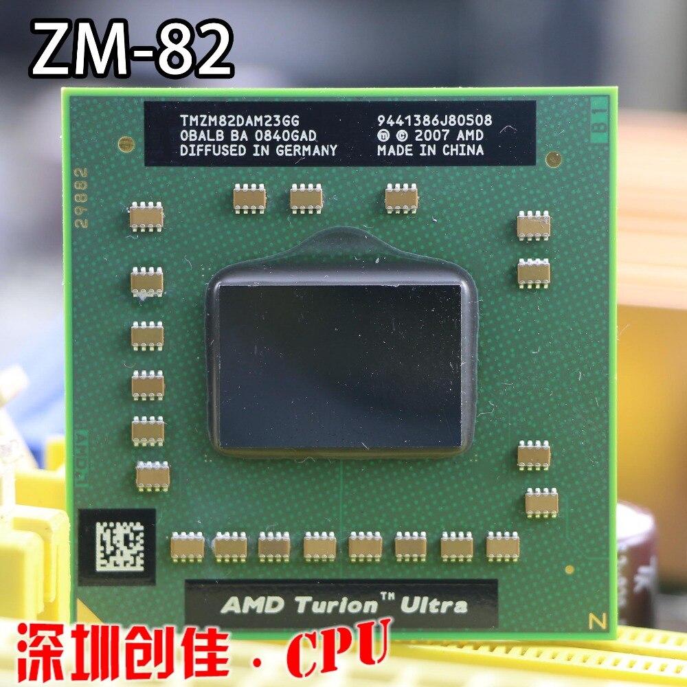 Livraison gratuite AMD Ordinateur Portable d'origine CPU TMZM82DAM23GG ZM82 PGA638 ZM 82 ZM-82 processeur PGA 638 Socket S1