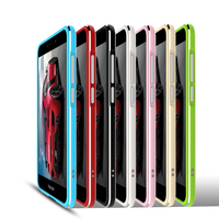 For Huawei Honor 8 Lite Case High Quality Aluminum Mobile Bumper Case Aurora Color For