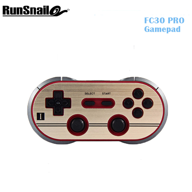 8Bitdo FC30 PRO Wireless Bluetooth 2.1 Gamepad Controller Dual Classic Joystick Fidget Spinner for iOS ,Android ,PC Mac,