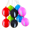 Smart Bead Ball Vaginal Ball Kegel Exerciser Vagina Tighter Ben Wa Ball Adult Sex Product Female Smart Duotone Ben Wa Ball 0131