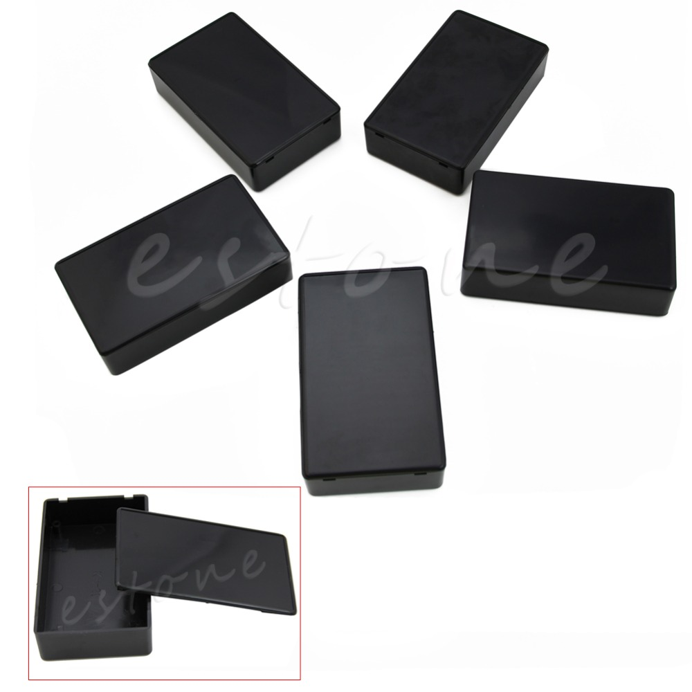 5 Pcs 100x60x25mm DIY Plastic Electronic Project Box Enclosure Instrument Case New