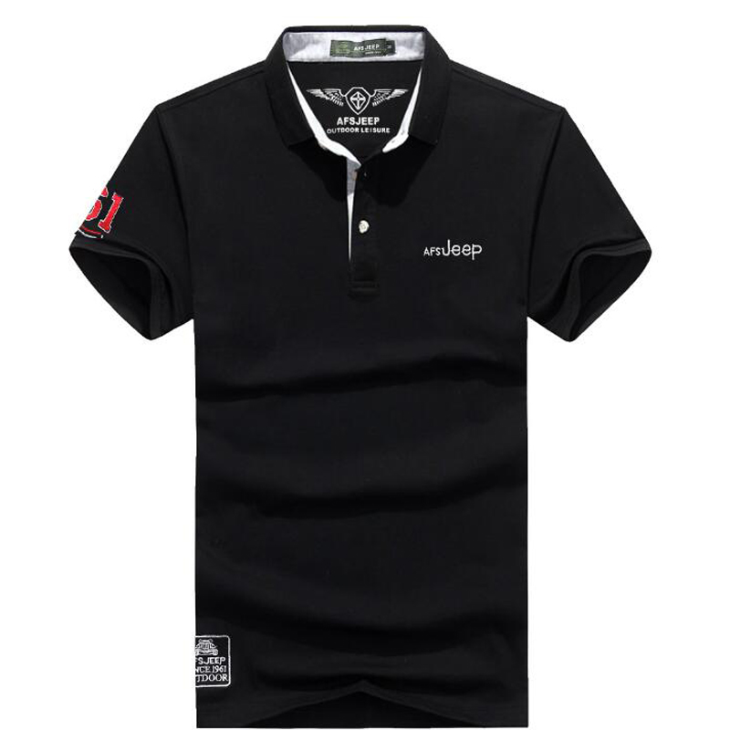 2017 New men s polo shirt high quality summer brand solid polo shirt Casual Cotton Men