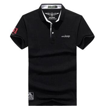 e3ec701fb5b9fe4 2019 новые мужские рубашки поло высокого качества летняя брендовая  Однотонная рубашка поло Повседневное хлопок для мужчин camisa брендовая руб.