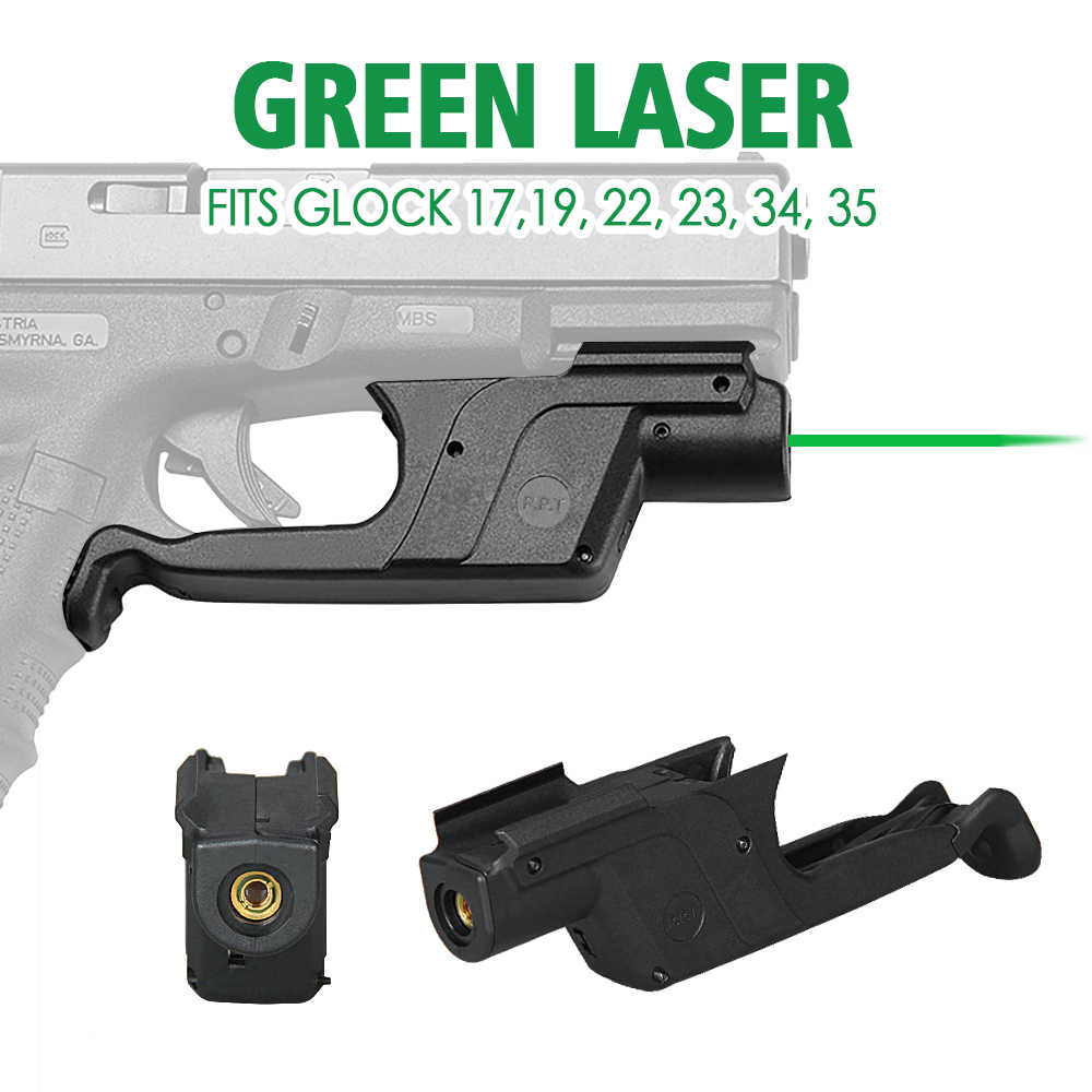 PPT Front Activering Groene Laser Sight past Glock 17 glock Laser Sight voor de Jacht gs20-0033