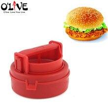 Manual Hamburger Forms Press Burger Hamburger Patties Maker Press Cutlets Stuffed Hamburger Mold Grill Kitchen Tools Gadgets