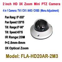 New Mini AHD TVI CVI CVBS Ptz Cameras With Full Hd P2p Motorized Zoom Lens Ptz