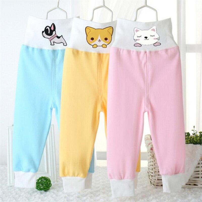 Realistisch Kinderen Pyjama Broek Cartoon Nachtkleding Jongens Pyjama Bodems Meisje Baby Indoor Katoen Zachte Slaap Winter Warme Broek Voor 0- 12 M