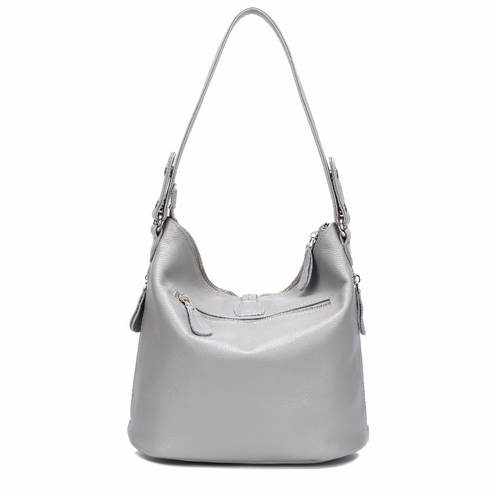 AODUX 2018 New 12 Colors Fashion Designer 100% Genuine Leather Women Small Shoulder Bag Tote Handbag Ladies Messenger Bag Purse Islamabad
