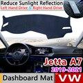 Для Volkswagen VW Jetta 7 A7 MK7 2019 2020 2021 Противоскользящий коврик на приборную панель солнцезащитный коврик для защиты автомобиля аксессуары