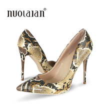Big Size 35-42 Classic Women Pumps Pointed Toe Thin High Heels Women Shoes Party Wedding Shoes Woman Sexy Ladies Shoes 12cm