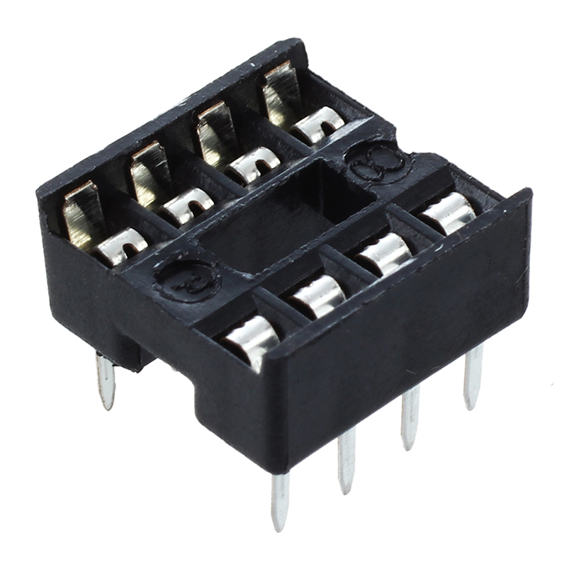 10 X 8 Pin DIP IC Sockets Adaptor Solder Type Socket                                                                          #8