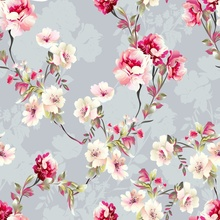 Laeacco Old Flowers Painting Portrait Spring Photography Backgrounds Customized Photographic Backdrops For Photo Studio
