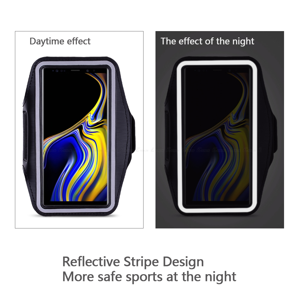 Running Cycling Sport Phone Holder Bag Cover For Samsung Galaxy S7 S6 Edge S8 S9 S10e S10 Plus Active Note 5 8 9 Arm Band Case