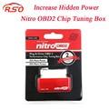 NitroOBD2 Производительности Чип-Тюнинг Box для Дизельных Автомобилей Красный NitroOBD2 Чип-Тюнинг Инструмент Больше Мощности и Крутящего Момента