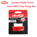 NitroOBD2 Performance Chip Tuning Box for Diesel Cars Red NitroOBD2 Chip Tuning Tool More Power & Torque