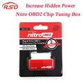 Rendimiento Chip Tuning Box para Coches Diesel NitroOBD2 Rojo NitroOBD2 Chip Tuning Herramienta Más Potencia y Par Motor