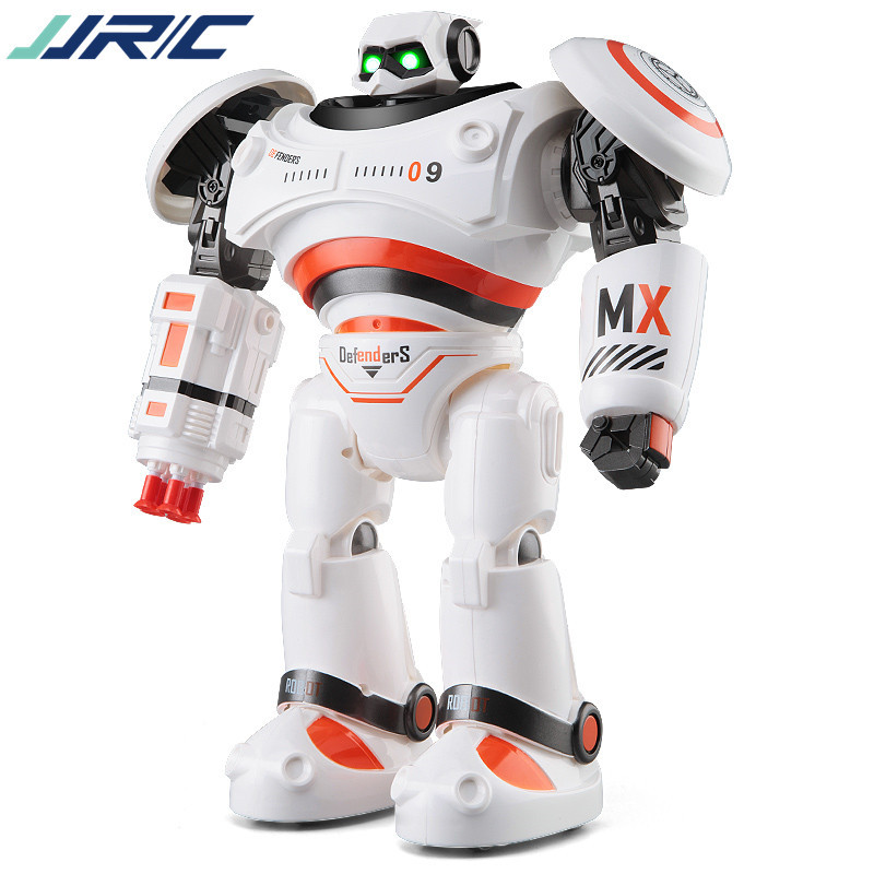New English RC smart robot toy R-1  Infrared Slide Walk Shoot Dance Intelligent remote control Battle droid kids toy vs 775849