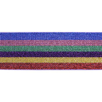 20หลา4.8เซนติเมตรความกว้างของยางยืดยืดริบบิ้นW Ebbingเทปตัดแต่งลูกไม้เข็มขัดสำหรับเสื้อผ้ากระเป๋าตกแต่งหัตถกรรมอุปกรณ์เย็บผ้าT2715