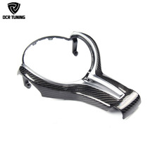 For BMW M2 F87 M3 F80 M4 F82 M6 F06 F12 F13 X5M F85 X6M F86 Carbon Fiber Steering Wheel Trim Cover for decoration car styling стоимость