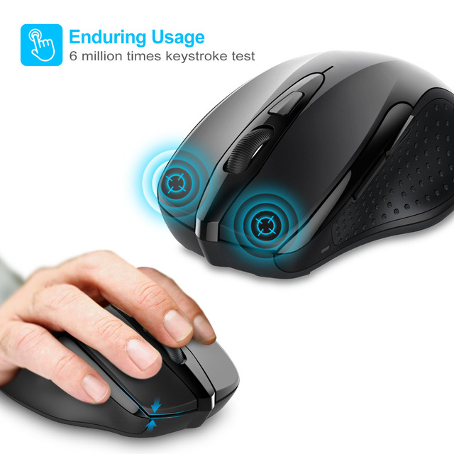 2400 DPI Ergonomic Wireless Mouse