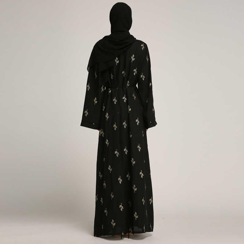 b2f943810b923a 2019 Abaya Kimono Dubai Turquie L'islam Cardigan hijab musulman Robe Abayas  Pour Femmes Jilbab Robe Caftan Turc vêtements islamiques