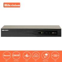 В наличии HIKVISON DS 7604NI E1/4 P CCTV Системы Onvif 4ch NVR 1 SATA 4 POE порта HDMI и VGA встроенный Plug & Play NVR POE