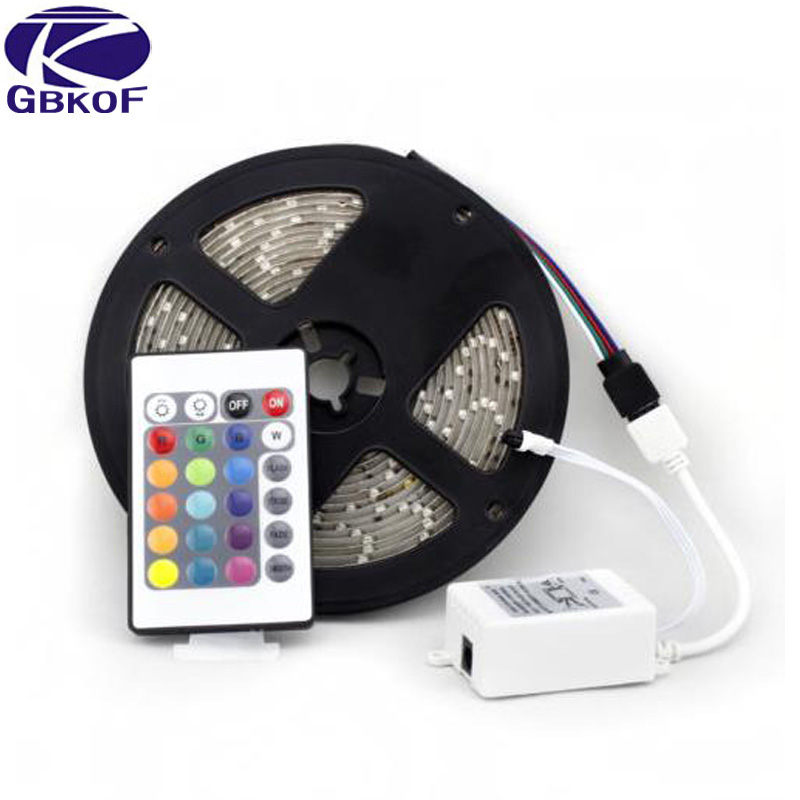 5M tape 3528 SMD Waterproof 60LEDs/M 300LEDs Warm Cool White Red Green Blue Yellow RGB different colors bendable LED Strip Light 3528 smd 120 led m led strip 5m 600 led 12v flexible light no waterproof white warm white blue green red yellow