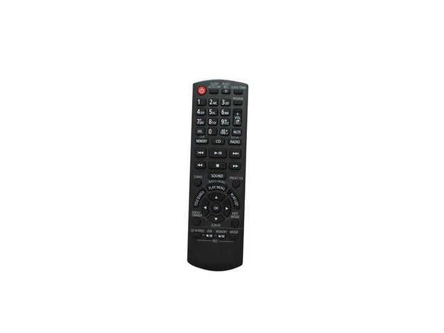 Remote Control For Panasonic Sc Akx10eb K Sc Akx50 Sa
