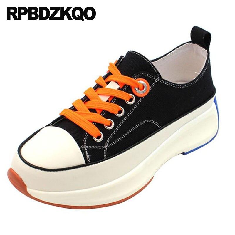 wide fit svart canvas sko outlet c1ade
