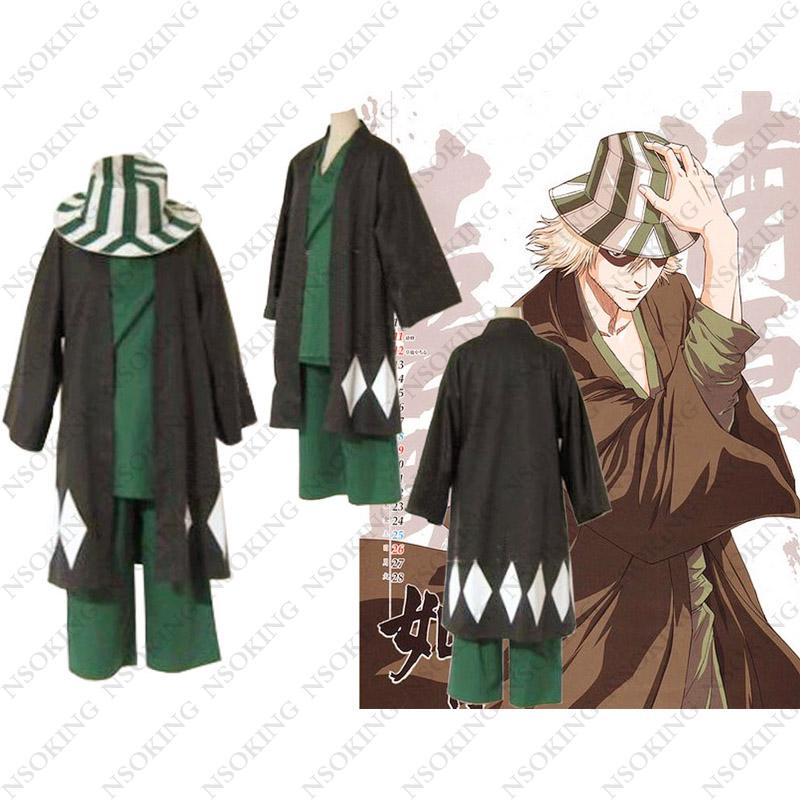 Urahara Kisuke Cosplay Costume