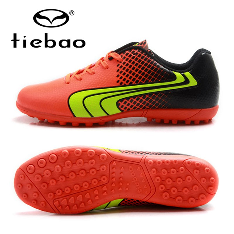 TIEBAO Brand Soccer Shoes Tf Turf Soles Teenagers Football Shoes Sport  Sneakers Blue Outdoor Soccer Cleats Boots Eu Size 37-43 980c6a62697