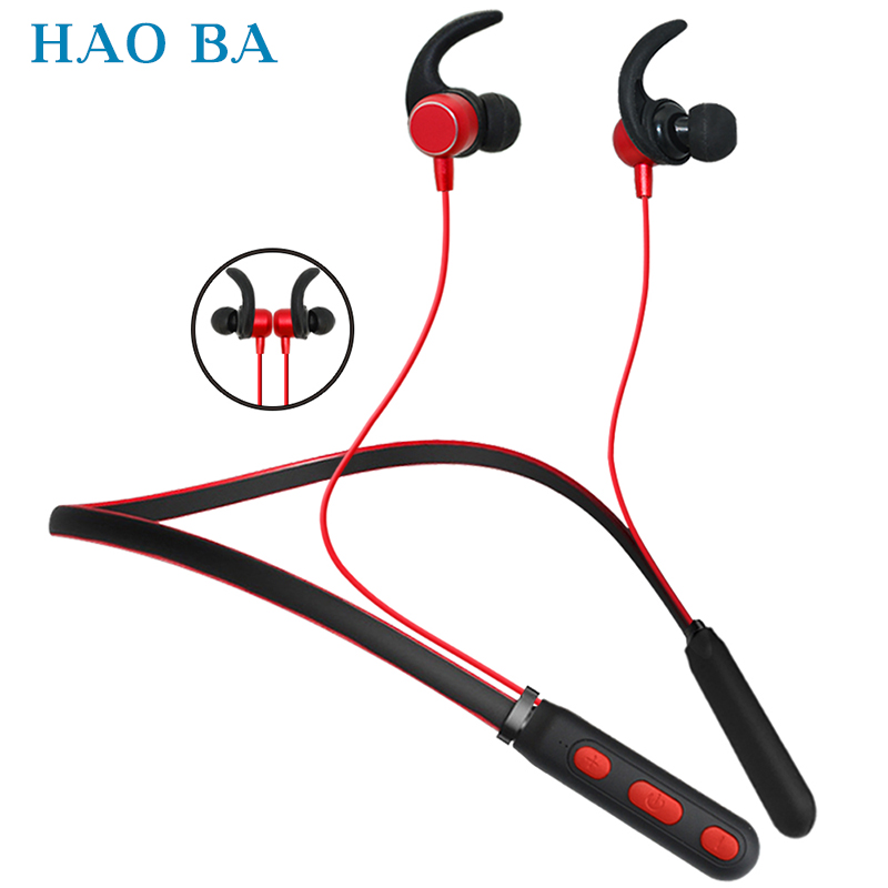 Bluetooth Earphone Sports Wireless Headphones Stereo Magnetic Bluetooth Headset for Phone Xiaomi iPhone Android IOS Mobile phone