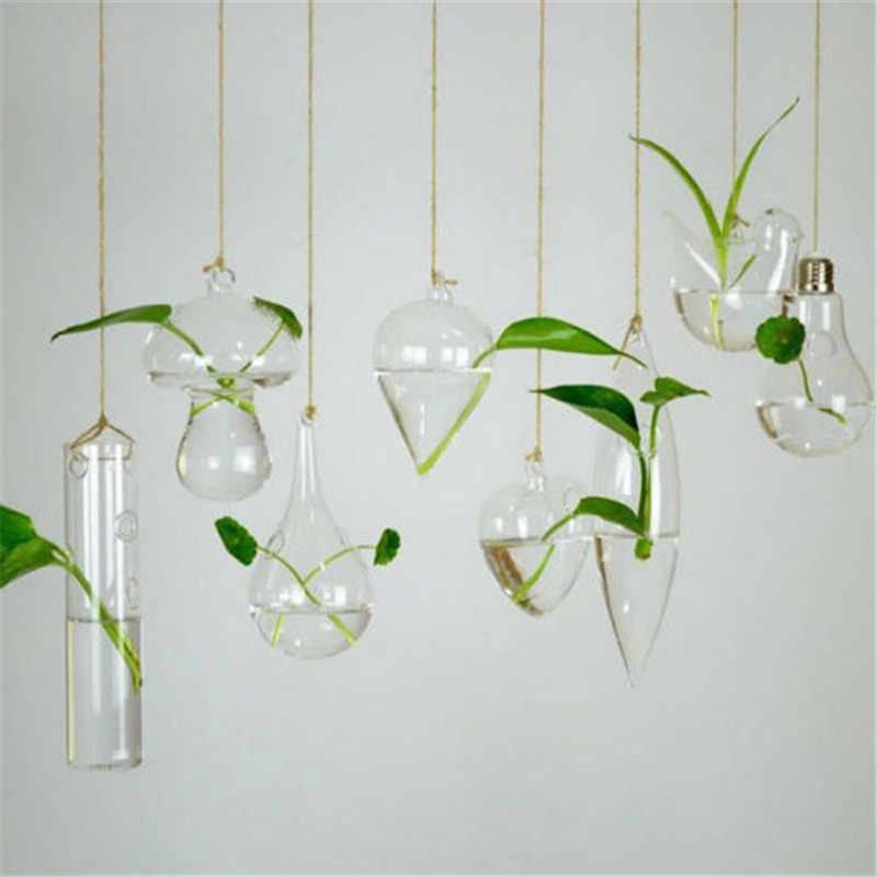 Цветочная ваза стеклянная ваза Террариум для растений контейнер домашний Свадебный декор