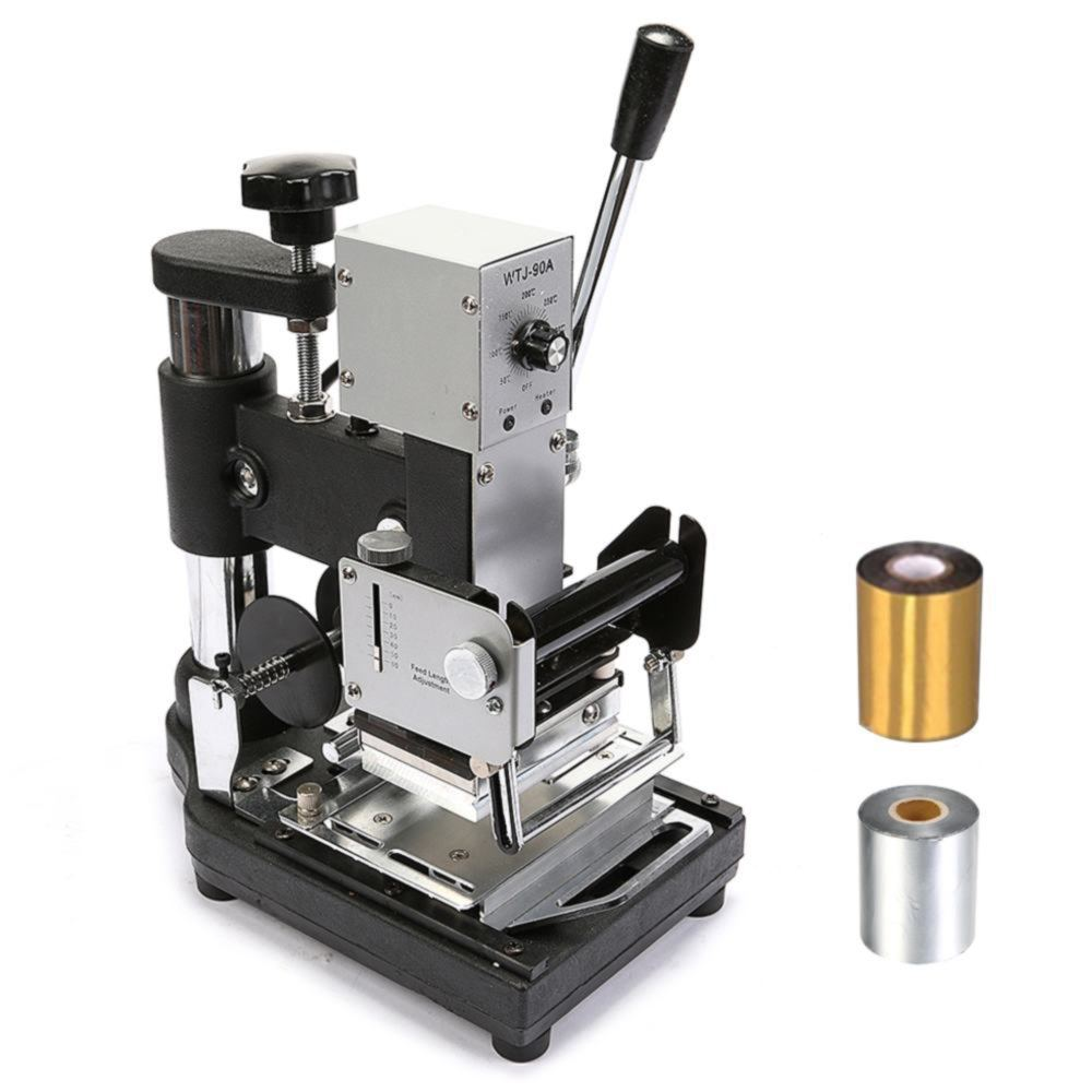 Metal Stamping Machine Tool Belarus: HOT FOIL STAMPING MACHINE STAINLESS STEEL HEAT UP QUICKLY