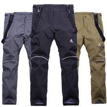 High-quality men's ski pants open thicken suspenders ski men's ski and snowboard pants sports pants pantalones hombre
