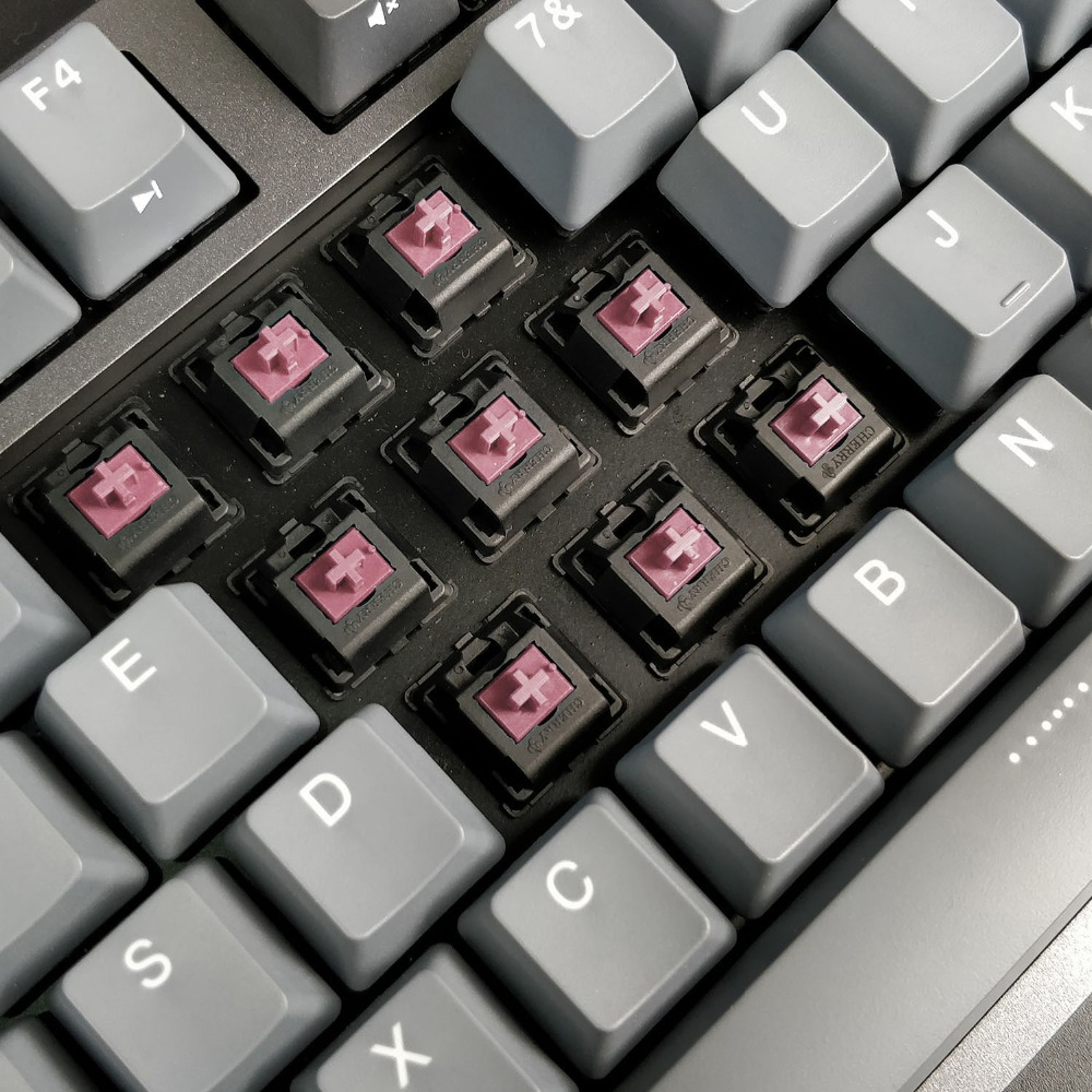 DURGOD 87 TKL Gaming Mechanical Gaming Keyboard with Cherry MX Silent Red Switch PBT doubleshot Keycaps in Keyboard Mouse Combos from Computer Office